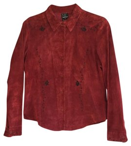 New Frontier Button Down Shirt Red