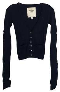 Abercrombie & Fitch Button Sweater Sweatshirt