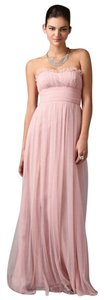 Vera Wang Petal/Pink Formal Bridesmaid/Mob Dress Size 4 (S)
