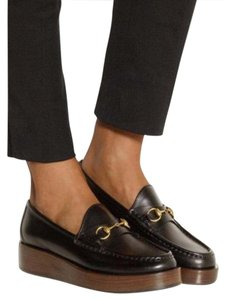 Gucci Horsebit Loafer Black Platforms