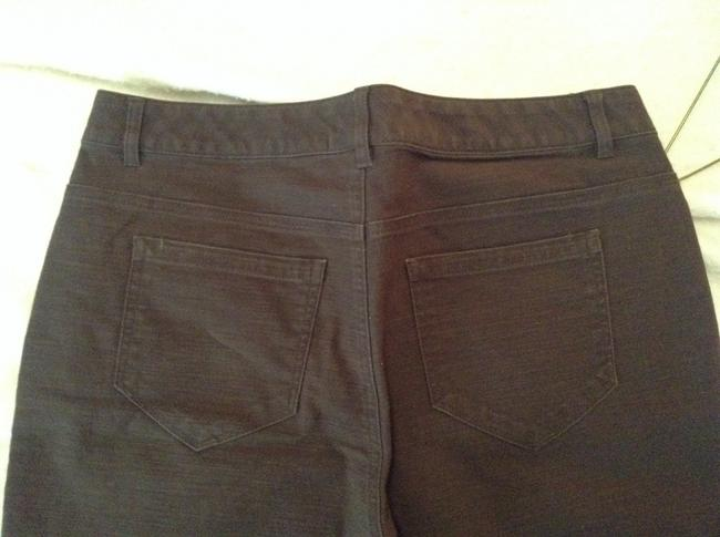 Liz & Co. Capris Brown