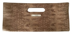 Michael Kors Taupe Clutch