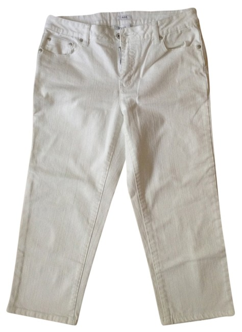 Liz & Co. Capris White