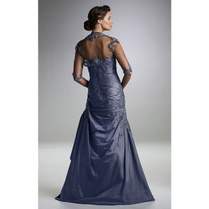Rina DiMontella Blue Gray 1422 Dress
