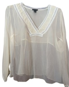 Lane Bryant Top Cream