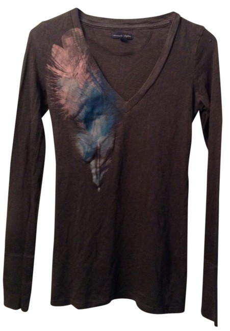 American Eagle Outfitters T Shirt Charcoal