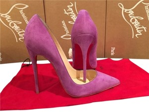 Christian Louboutin Size 37 Chrisitan purple Pumps