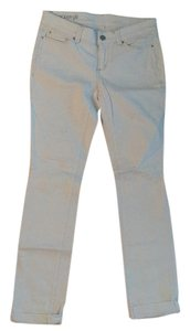 Ann Taylor Straight Pants White