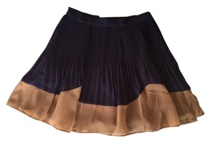 ASOS Mini Skirt Violet & Caramel