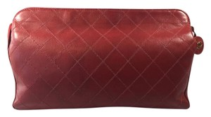Chanel Bordeaux Clutch