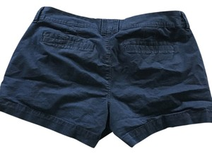 Old Navy Blue 3 Inch Mimi Pockets Mini/Short Shorts Navy Blue
