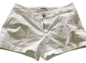 Old Navy 3 Inch Mini Pockets Mini/Short Shorts White