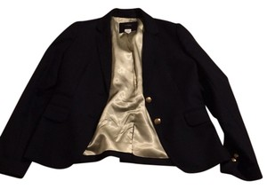 J.Crew J. Crew navy blue blazer with gold buttons