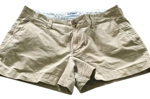 Old Navy Mini 3 Inch Pockets Mini/Short Shorts Kakki