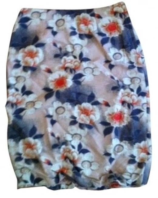 Preload https://item1.tradesy.com/images/h-and-m-flower-print-pink-knee-length-skirt-size-4-s27-1145-0-0.jpg?width=400&height=650