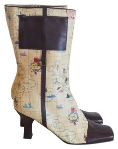 Sharif Barcelona Heel 10 Map Multi Boots