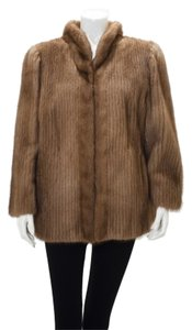 Saga Furs Fur Fur Corded Fur Coat