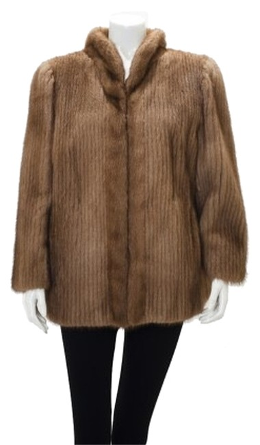 Saga Furs Fur Corded Fur Mink Fur Coat