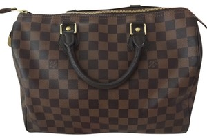 Louis Vuitton Speedy 30 Eva Favorite Neverfull Mm Pm Tote Monogram Damier Satchel in Ebene