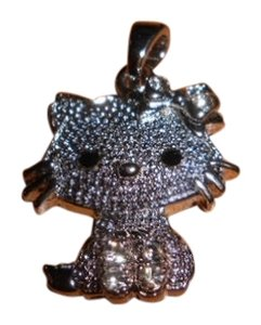 Hello Kitty Sparkly Hello Kitty Pendant for Necklace