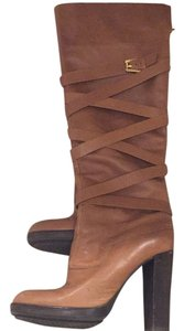 Michael Kors British Tan Boots