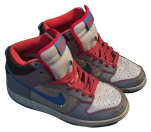 Nike Gray, blue, coral Athletic