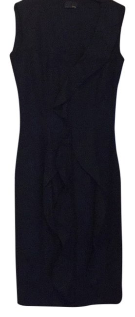 Item - Navy Above Knee Cocktail Dress Size 2 (XS)