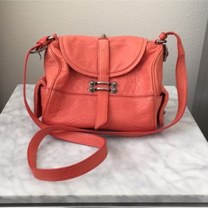 Anthropologie Coral Messenger Bag