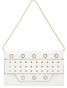 MILLY White Clutch