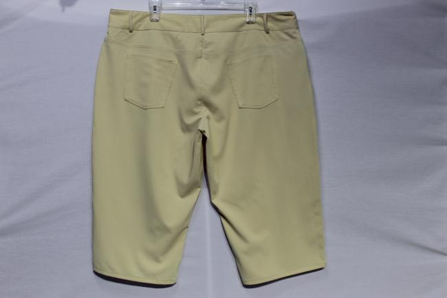 Chaser Capris Pale Yellow
