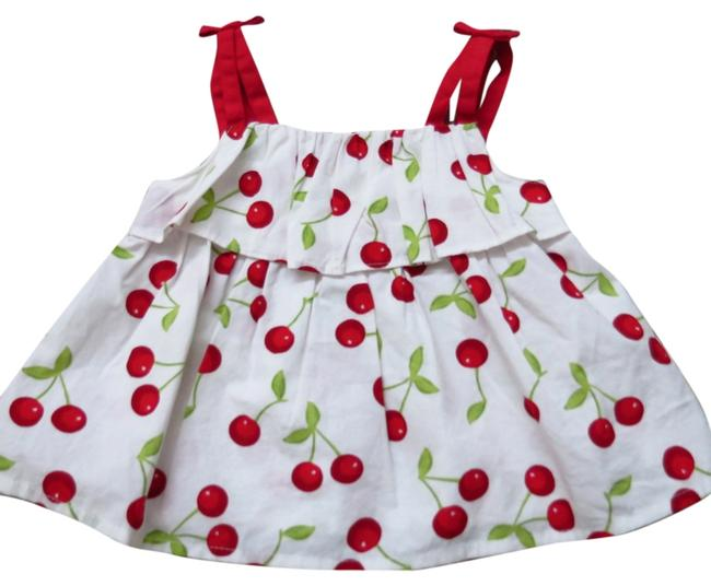 Gymboree 12-18 month toddler's cherry dress