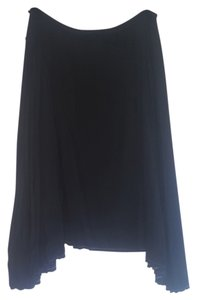 Max Studio Midi Skirt Black