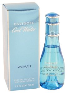davidoff COOL WATER by DAVIDOFF Eau de Toilette Spray ~ 1.7 oz / 50 ml