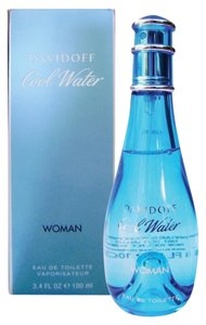 davidoff COOL WATER by DAVIDOFF Eau de Toilette Spray for Women ~ 3.4 oz / 100 ml