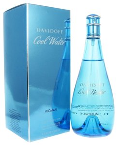 davidoff COOL WATER by DAVIDOFF Eau de Toilette Spray for Women ~ 6.7 oz / 200 ml
