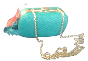 taleen turquoise Clutch