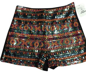 Shankara Mini/Short Shorts Black/orange / blue multi print eit