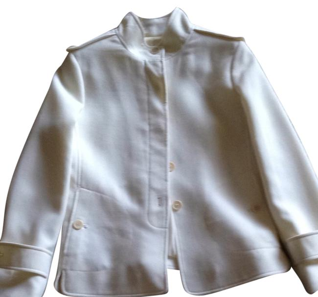 Item - Ivory Or Cream The Grace Fit Jacket Size 6 (S)