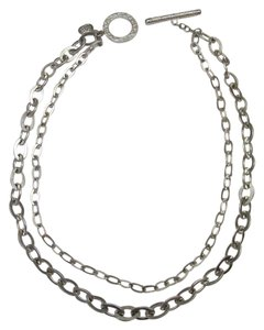 TWO STRAND CHAIN NECKLACE