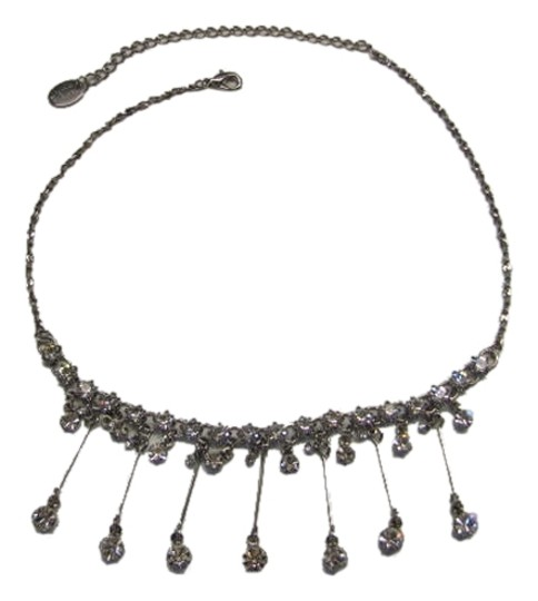 Preload https://item3.tradesy.com/images/claire-s-silvertone-rhinestone-necklace-1145662-0-0.jpg?width=440&height=440