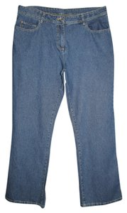 Basics Boot Cut Jeans-Medium Wash