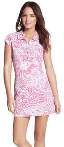 Lilly Pulitzer short dress Blac Rayna Printed Polo on Tradesy