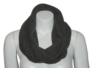 Portolano PORTOLANO 12 NWT GRAY KNIT CASHMERE BLEND SNOOD