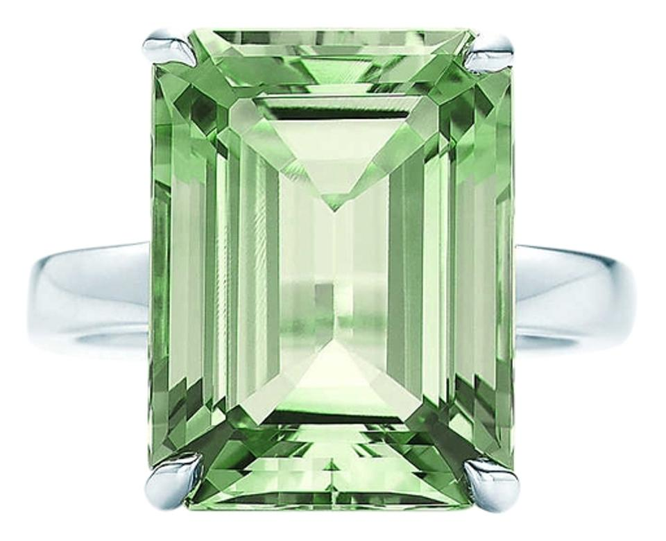 6d464a815 Tiffany & Co. Tiffany Sparklers Green Quartz Cocktail Ring Image 0 ...