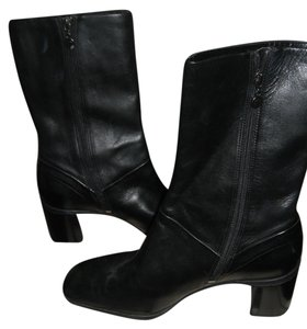 Rockport Leather Leather Leather Black Boots
