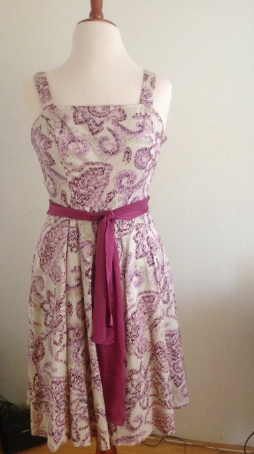 Ann Taylor LOFT short dress Mauve on Tradesy