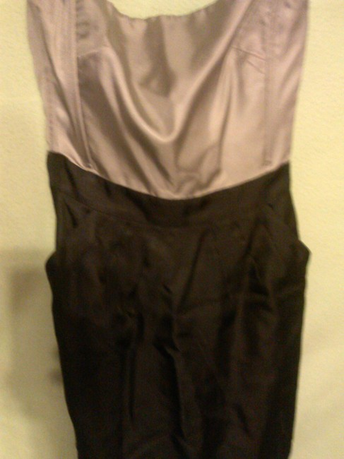 Banana Republic Chic Silk Strapless Dress
