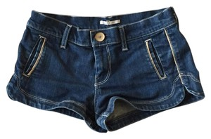 7 For All Mankind Dovetail Denim Shorts Mini/Short Shorts