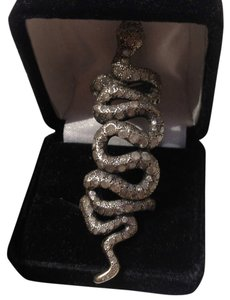 Loree Rodkin LOREE RODKIN Coiled Snake Bondage Ring, 18k White Gold & Diamonds