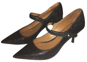 Donald J. Pliner Mary Jane Black Pumps
